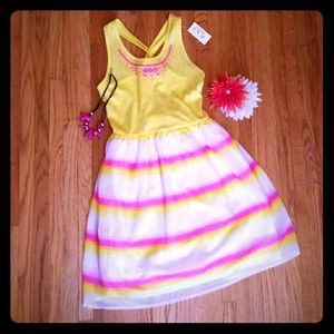 XL 14 Childrens Place NWT Bright Colored Sundress